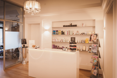 Empfang Anima Beauty Hall